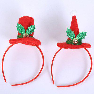 Christmas Party Decoration Flanel Hat Children hoofdband 2st
