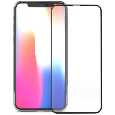 ZK Guardian Serie 3D Superficie Completo Pellicola in Vetro Temperato Nero per iPhone X