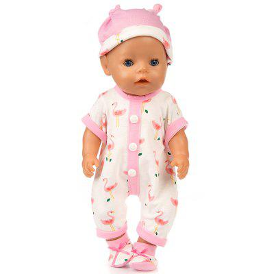 Simulación de 43cm Baby Rebirth Doll Cloth