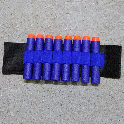 Toy Gun PA Bullet Wristband for Nerf Gun Soft Holder Professional Player Accessories Outdoor Game Equipment