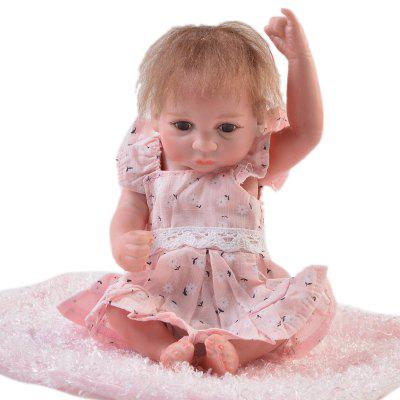 KEIUMI 10 inch Mini Simulation Baby Rebirth Doll Toy