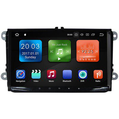 WG9018S - MW 9 inch Octa Core Android 8.0 4G RAM WiFi DAB TPMS GPS Car Radio for VW Golf