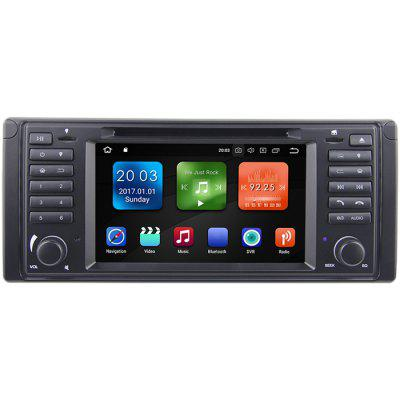 WG7039 - DW 7 inch Octa Core Android 8.0 4G WiFi DAB TPMS GPS Car Radio DVD Player for BMW E39 E53 M5 Image