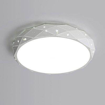 ZUNGE P350 64W Round LED Tri-color Light White Ceiling Lamp