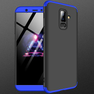 Dreiteiliges Half-Pack-Phone Back Cover Fallschutz für Samsung A6 Plus