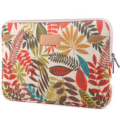 Colorful Leaf Notebook Sleeve Laptop Bag 13 Inch