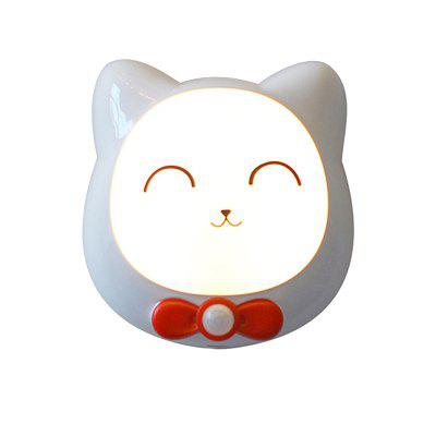 Cat Pattern Charge Induction Nachtlicht LED Lampe