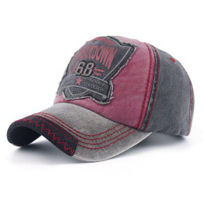 Personality Edging Breakdown Washed Old Baseball Cap
