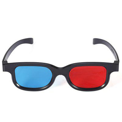 Red And Blue Glasses Stereo 3D Glasses for TV / Computer / Projector