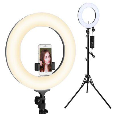 Houzetek LD - R14 - S 14 inch Bi-color Dimmable LED Ring Light