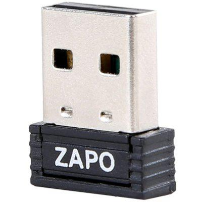 ZAPO W4 Mini 150Mbps Wireless USB Network Card Desktop WiFi Transmitter Receiver
