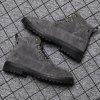 Men Casual Tooling Trend Boots - GRAY