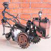 Vintage Wrought Iron Tractor Model Ornament Metal Crafts Creative High-end Chinese Home Decoration - MULTI-A