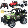 Children Electric Charging Remote Control Car - CAMOUFLAGE GREEN