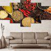 Wulian Decorative Painting Oil Painting Kitchen Aniseed Various Spices Pepper - MULTI