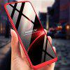 Three - stage Half Pack Back Cover Anti - fall Mobile Phone Case for OPPO A3S - RED