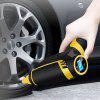 Tire Emergency Gas Pressure Air Pump with USB / Car Charging Cable - BLACK