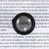 Head Magnifier LED Magnifying Glasses Mirror Portable Watch Repairing Tool - MILK WHITE