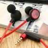 Wired Noise-canceling Voice Change Earphones - LAVA RED