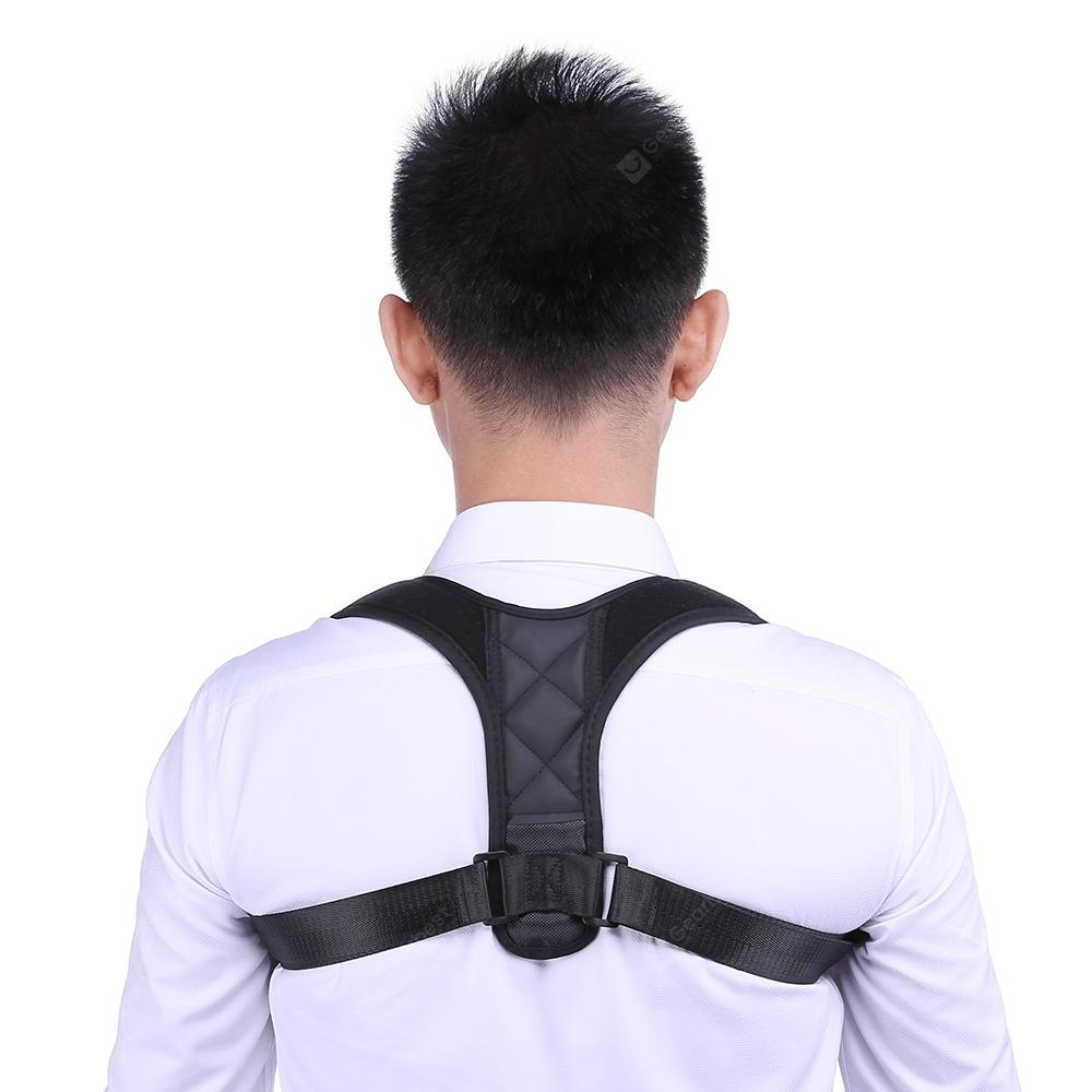 Monclique Back Correction Belt Posture Corrector - Black