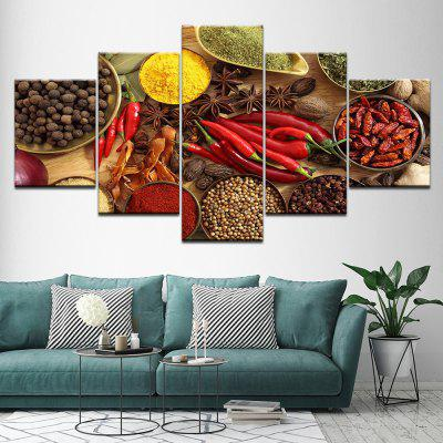 Decorative Oil Painting Kitchen Spice Pepper Octagonal Aniseed