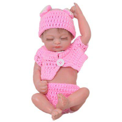 KEIUMI 11 Inchs Mini Simulation Baby Rebirth Doll Toy