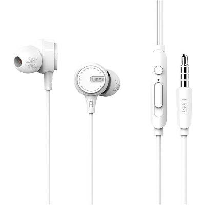 UIISII U8 High Quality In-ear Mobile Phone Earphone With Mic Noise Reduction Sound Insulation Game Microphone HIFI