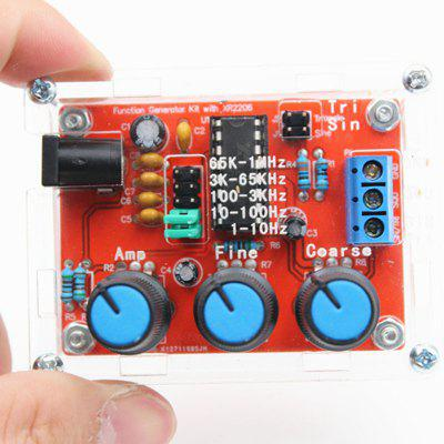 XR2206 High Precision Signal Generator DIY Parts with Shell