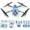 Aircraft Full Set Of Stickers for DJI Mavic 2 Pro / Zoom - BLUE