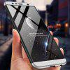 Three-in-one Hard PC All-inclusive Phone Case for Samsung Galaxy J6 Plus - SILVER