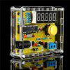 1Hz - 50MHz Frequency Meter Crystal Measurement DIY Kit with Cover - YELLOW