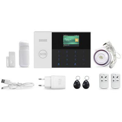 PG-105 WIFI+GSM Dual Network Alarm System Set