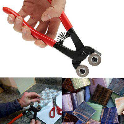 DIY Cutting Tool Double Round Trimming Pliers for Glass Tile