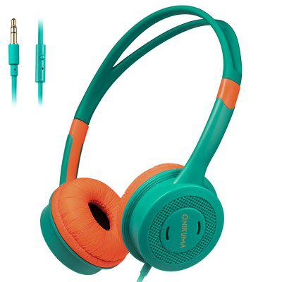 ONIKUMA M100 Kinderen Headphone 3.5mm Wired Kids headset met microfoon