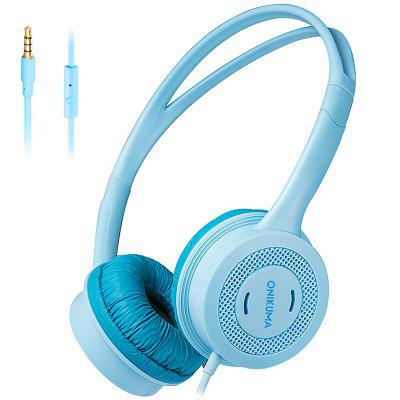 ONIKUMA M100 Children Headphone 3.5mm Wired Kids Headset with Microphone