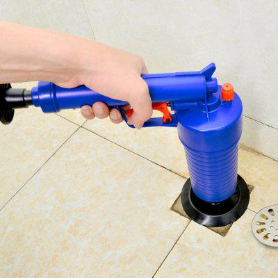 Blocked Hair Sucking Cleaner Pneumatic Pipe Dredging Device Home High Pressure Air Drain