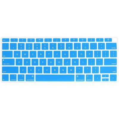 ENKAY Laptop Ultra-thin Silicone Color Keyboard Protective Film for MacBook Air 13.3 inch 2018 (A1932) US Version