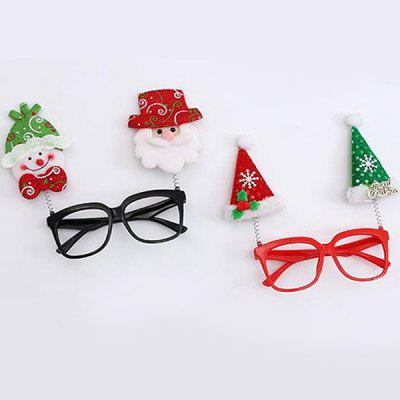 Christmas Decoration Cute Cartoon Spectacle Frame for Children 2pcs