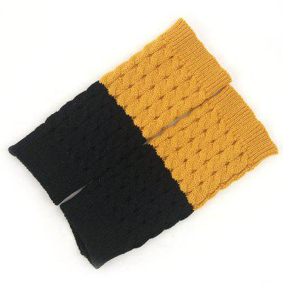 Women's Winter Fashion Accessories Two-color Knit Warm Mid-length Wool Socks