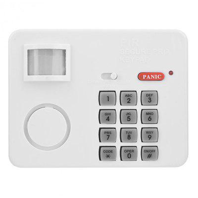 H028 PIR Wireless Human Sensor Code Security Infrared Detection Alarm