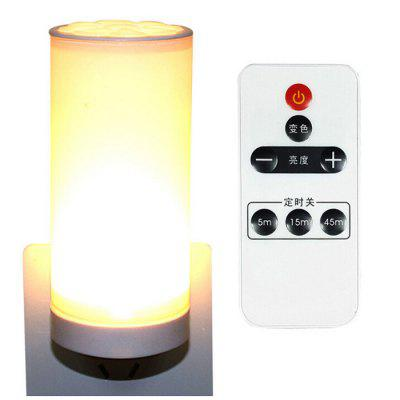 LED Night Light Bedroom Bedside Study Wall Lamp with Remote Control