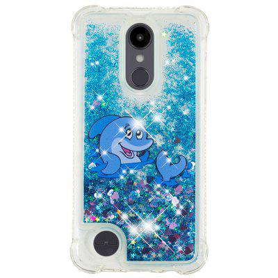 Dolphin Full Soft Drop-proof Transparent Protective Case for LG K8