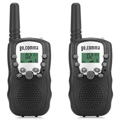 Gocomma 8-channel 2-way Radio Walkie Talkie 2PCS