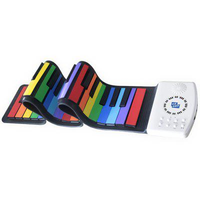 SJ4902 49 Key Color Hand Roll Piano