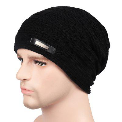 Plus Velvet Warm Wool Hat for Autumn and Winter