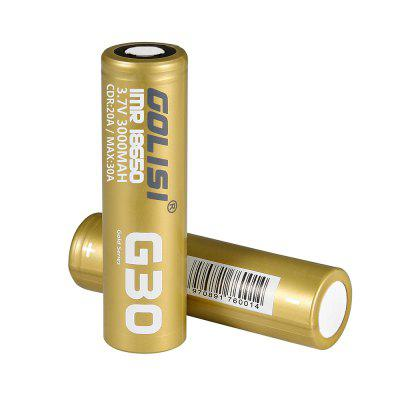 Golisi G30 3.7V / 3000mAh 18650 Li-ion Battery
