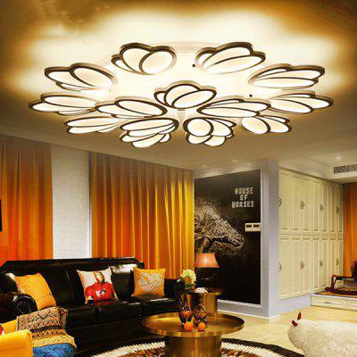 Stylish LED Ceiling Lamp Modern Home Creative Personality Acrylic Living Room Bedroom Dimming Light