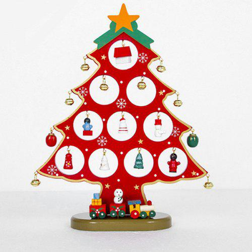 Children Gift Large Wooden Hollow Christmas Tree Decoration Ornament