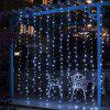 BRELONG Christmas 600LED Curtain String Light 110V - WHITE