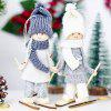 Christmas Decoration Creative Wool Ski Doll Pendant - MULTI-D